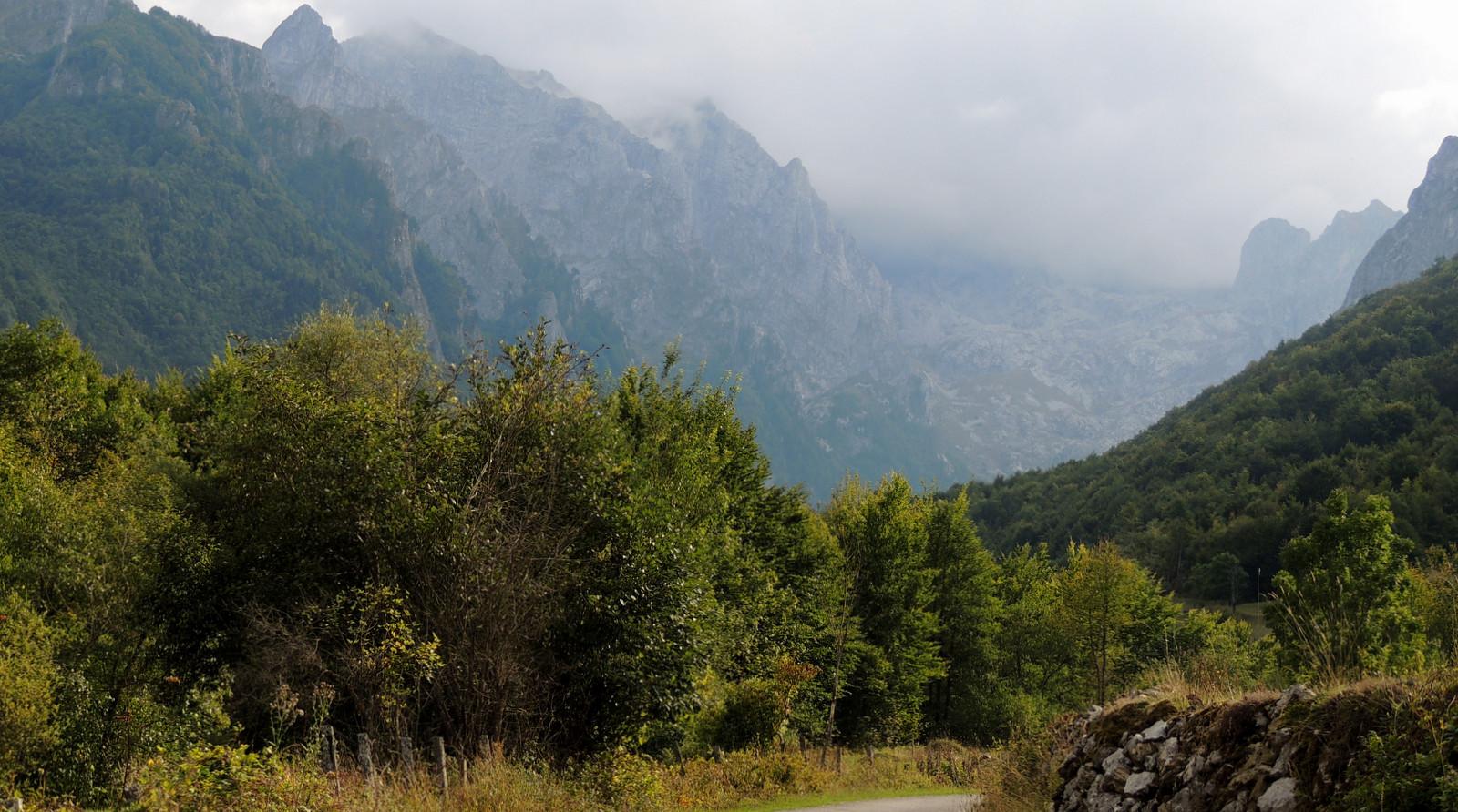 Prokletije-Nationalpark von Montenegro