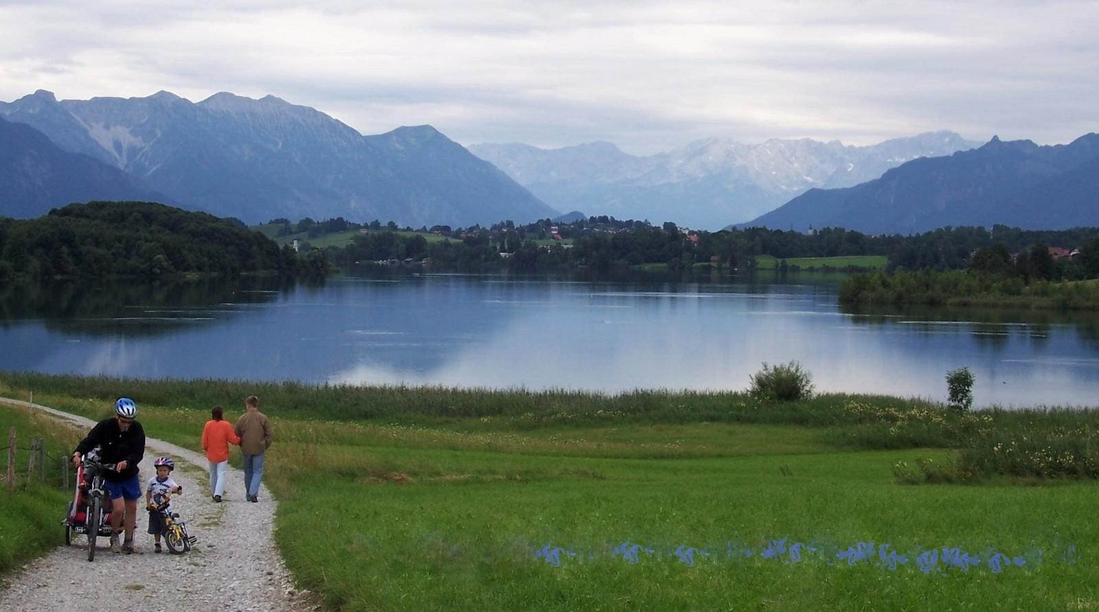 Blaues Land - Riegsee