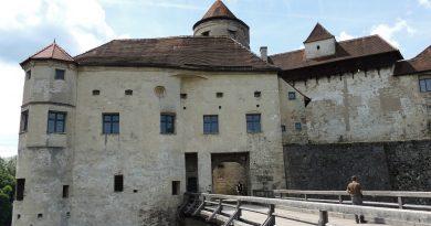 Burghausen mit der längsten mittelalterliche Festung