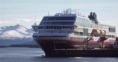 Mit Hurtigruten von Bergen nach Trondheim