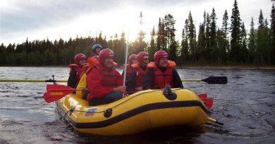 Lappland – Rafting und Wandern im Mittsommer