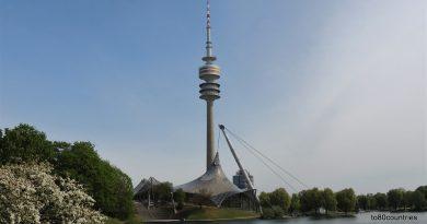 Der Olympiapark in München wird 50