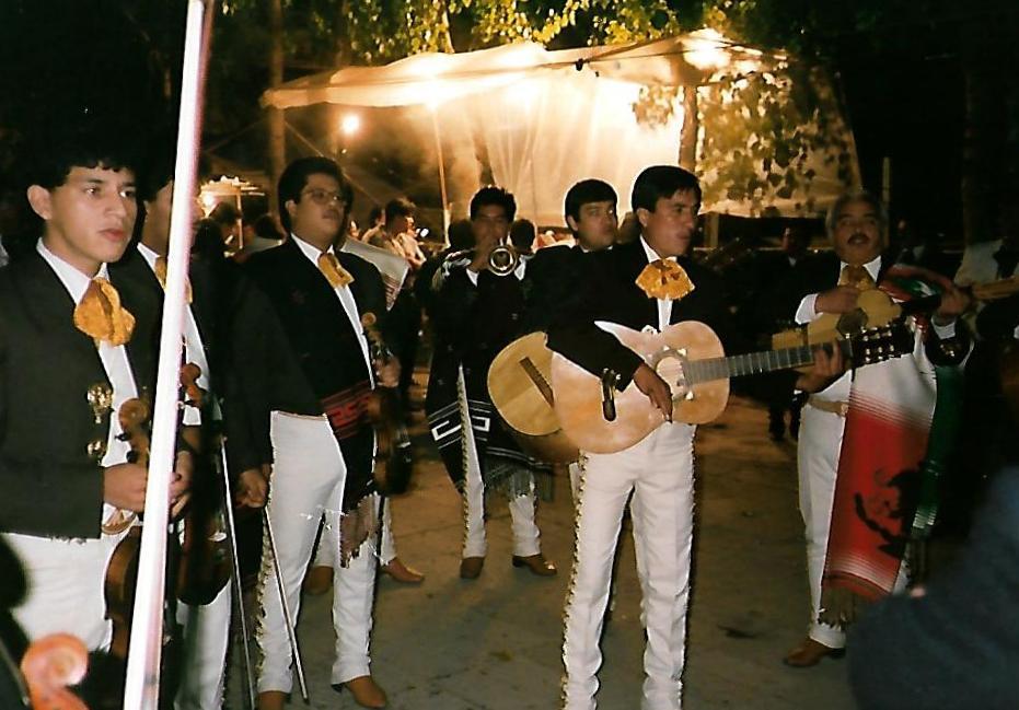 Mariachi auf dem Plaza Garibaldi
