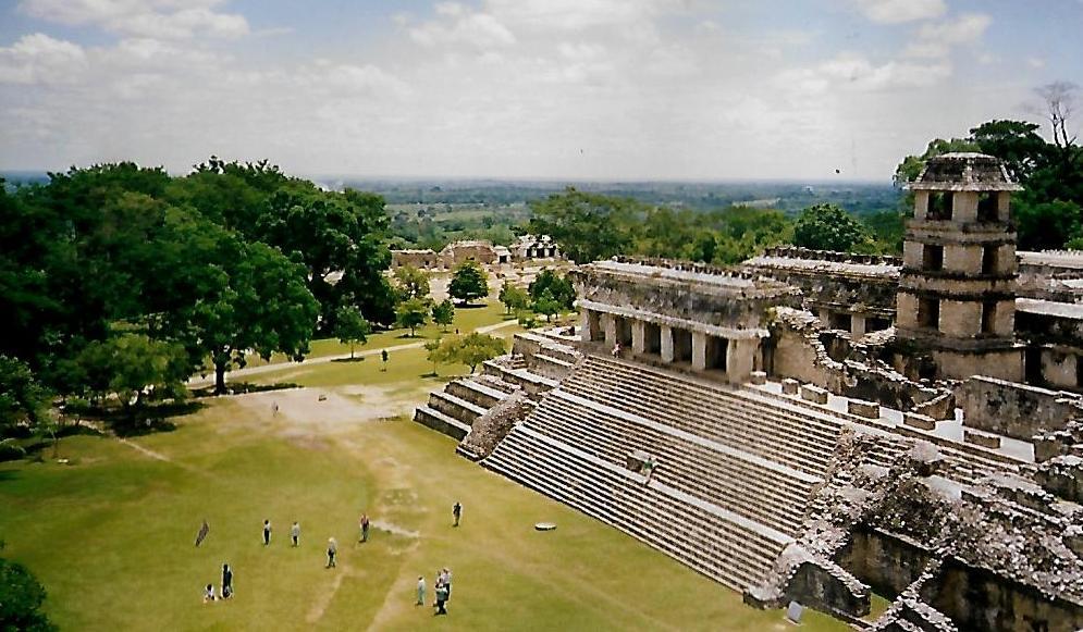 Großer Palast von Palenque