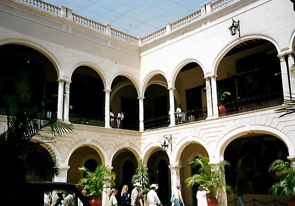 Gouverneurspalast von Mérida in Mexiko