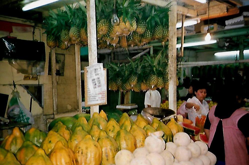 Mercado Municipal in Mérida - Mexiko