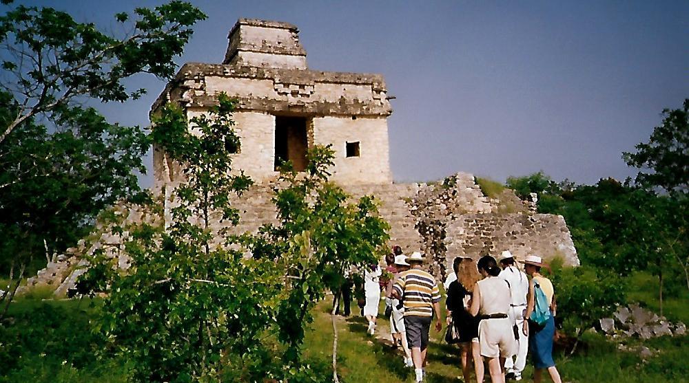 Tempel der 7 Puppen - Dzibilchatún - Mexiko