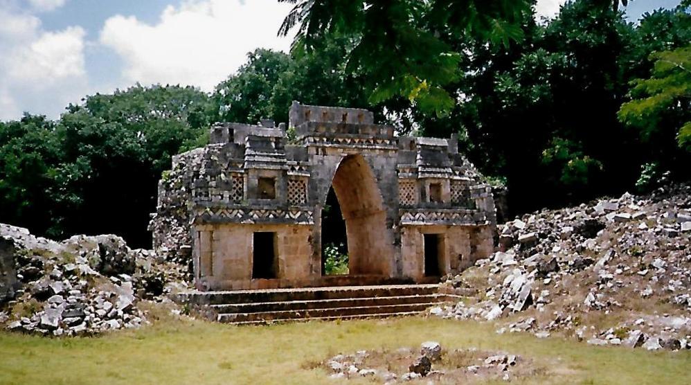 Bogen der Maya in Labná - Mexiko