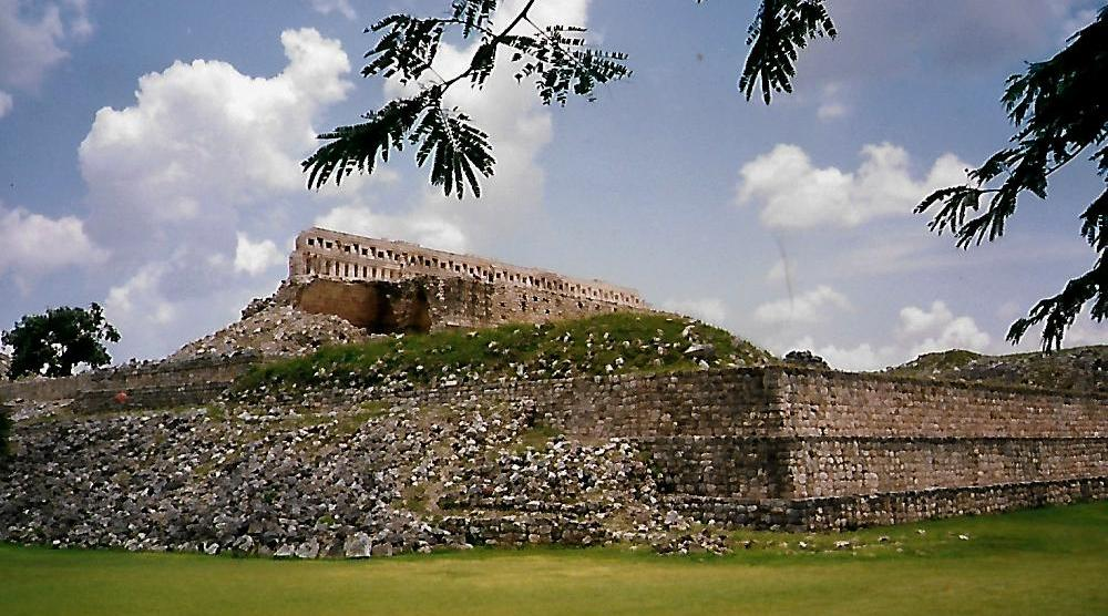 Gouverneurspalast in Uxmal - Mexiko