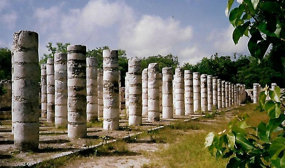 Gruppe der 1.000 Säulen - Chichen Itzá - Mexiko