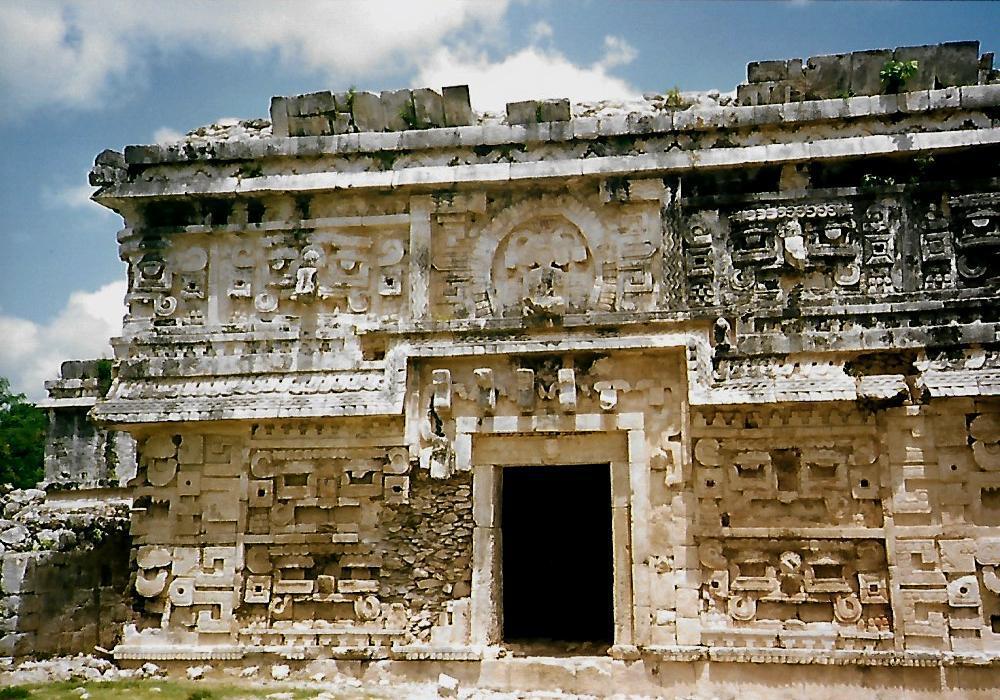 Das Nonnenkloster in Chichen Itzá
