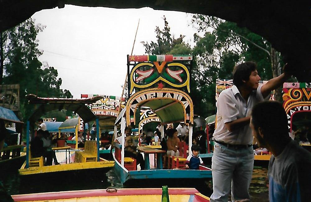 Die Schwimmenden Gärten von Xochimilco