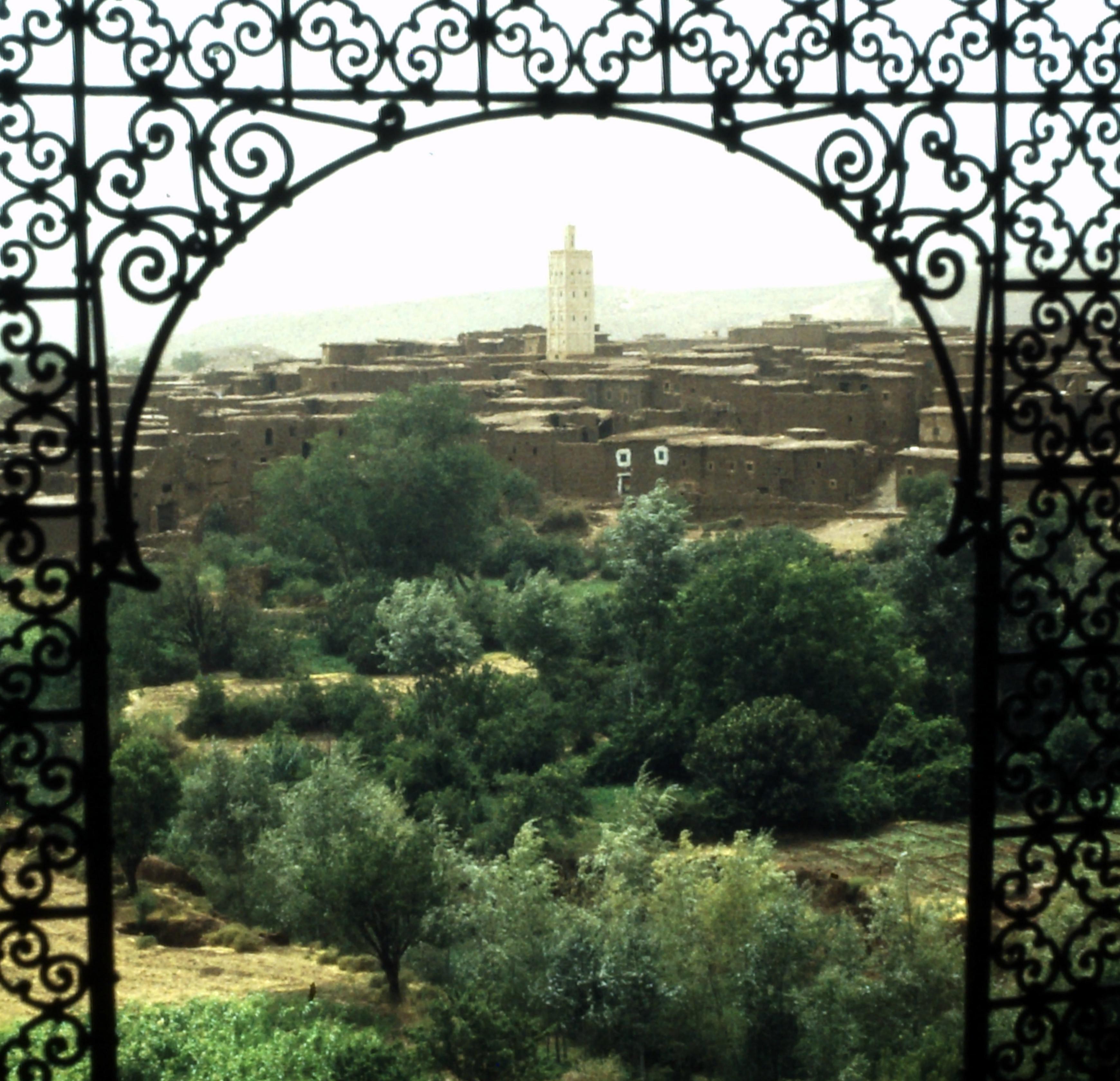 Telouet - Kasbah des Glaoui-Fürsten - Marokko