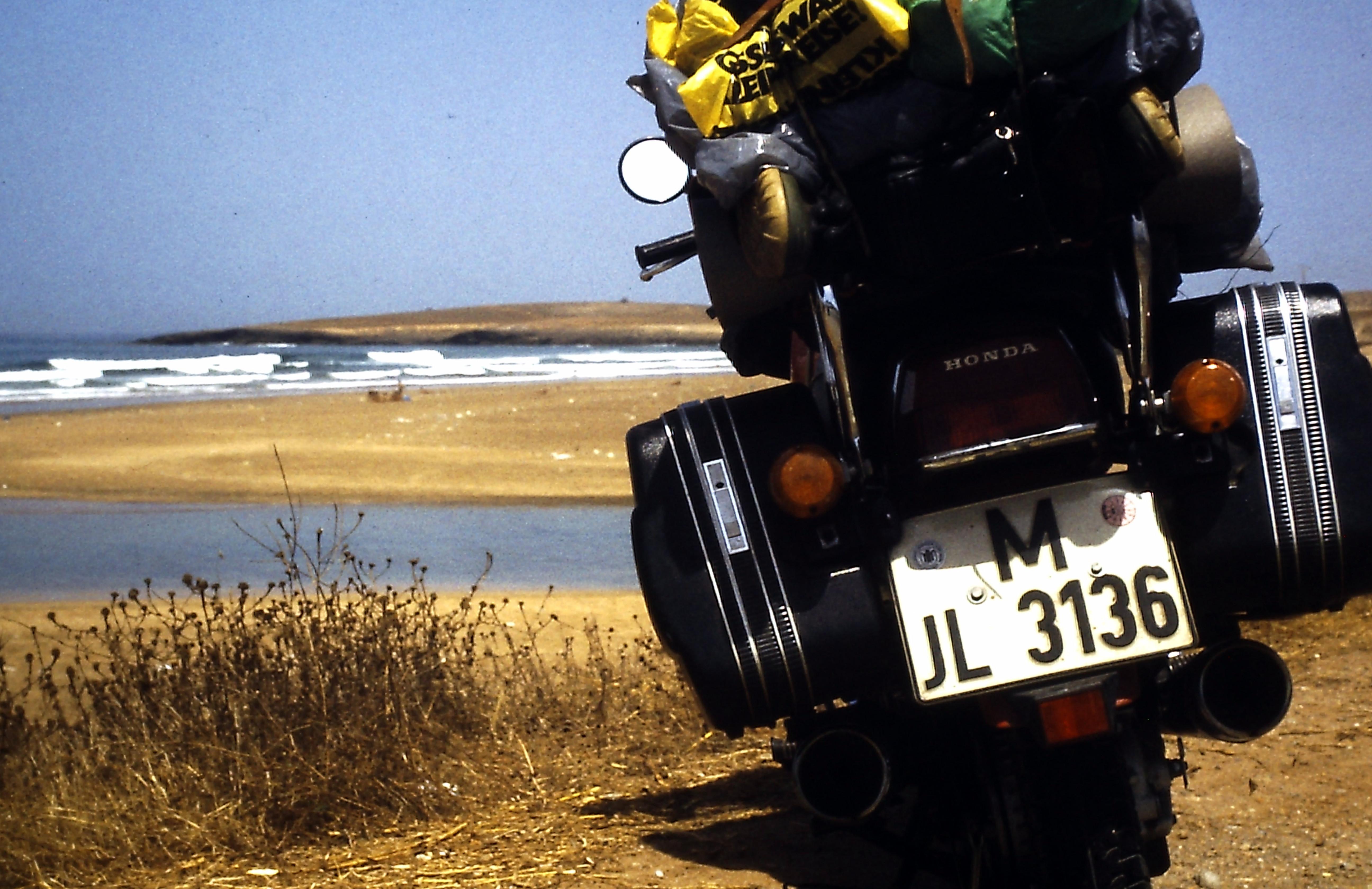 An der Atlantikküste von Marokko
