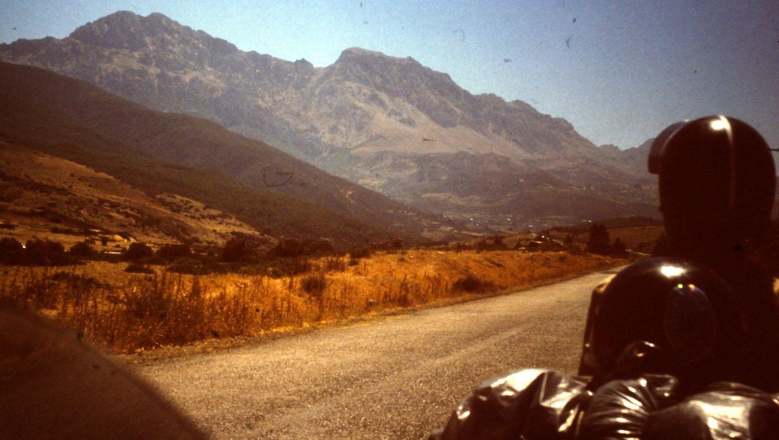 Im Rif-Gebirge Marokko