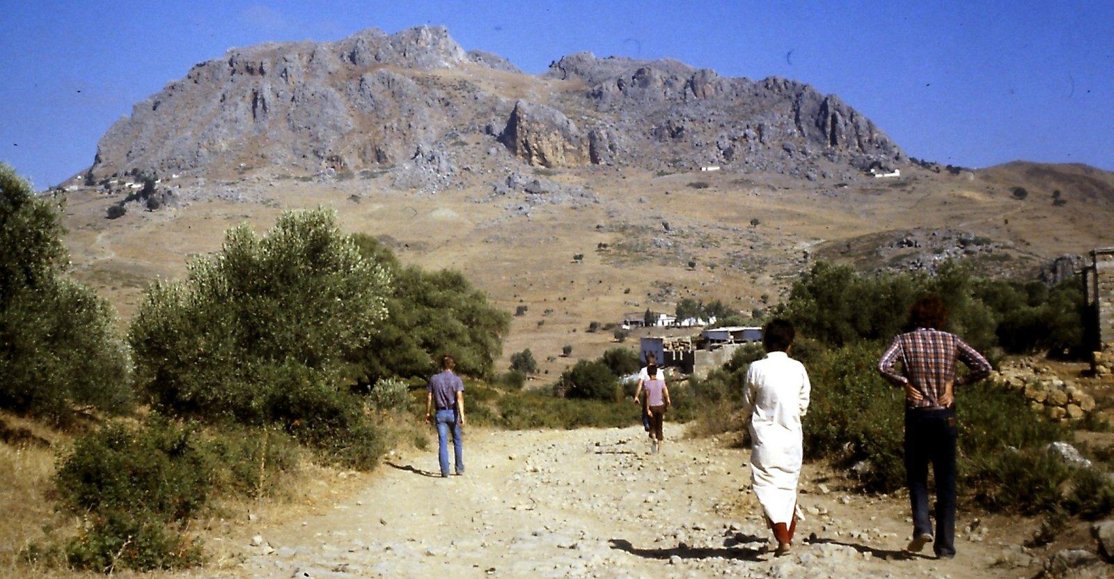 Wanderung im Rifgebirge Marokko