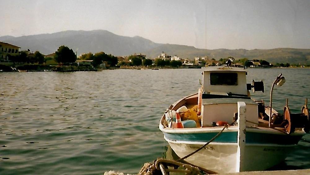 Fischereihafen Ireon auf Samos