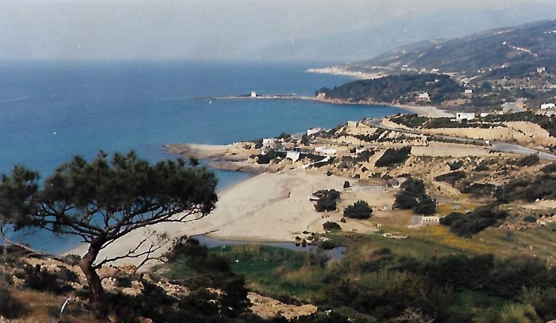 Strand von Arministis auf Ikaria