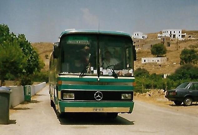 Der Linienbus von Ikaria
