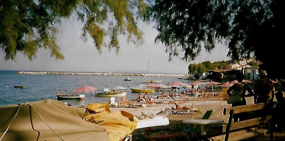 Strand von Ireon auf Samos