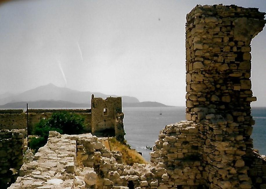 Burg des Logothétes auf Samos