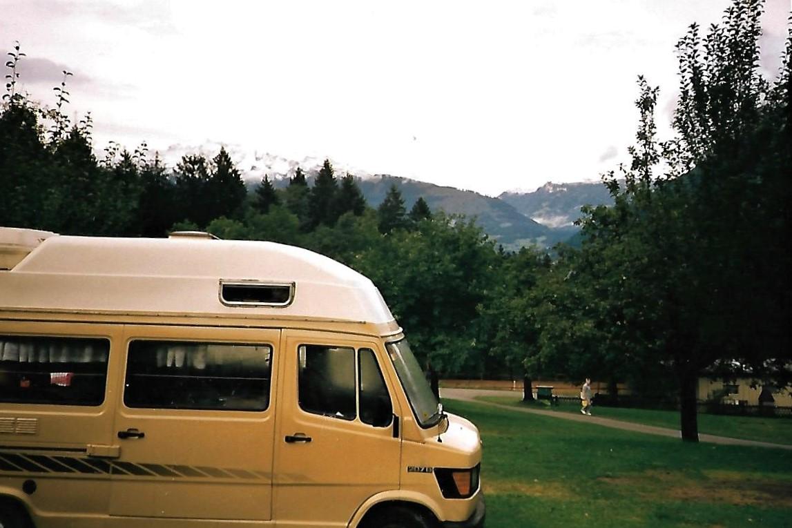 Unser Wohnmobil im Fürstentum Liechtenstein