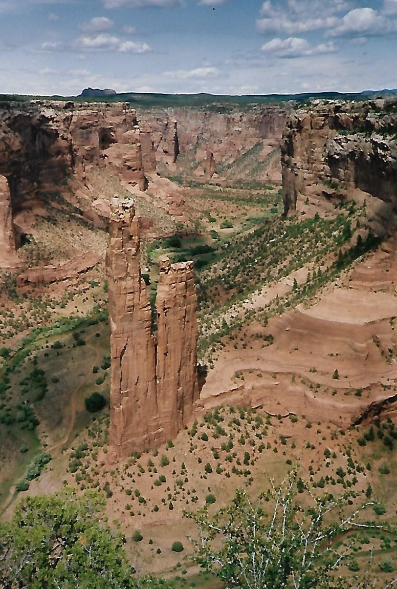 Spider Rock - Canyon de Chelly - Arizona - USA