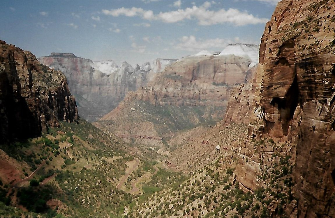 Zion Canyon Overlook - Utah USA