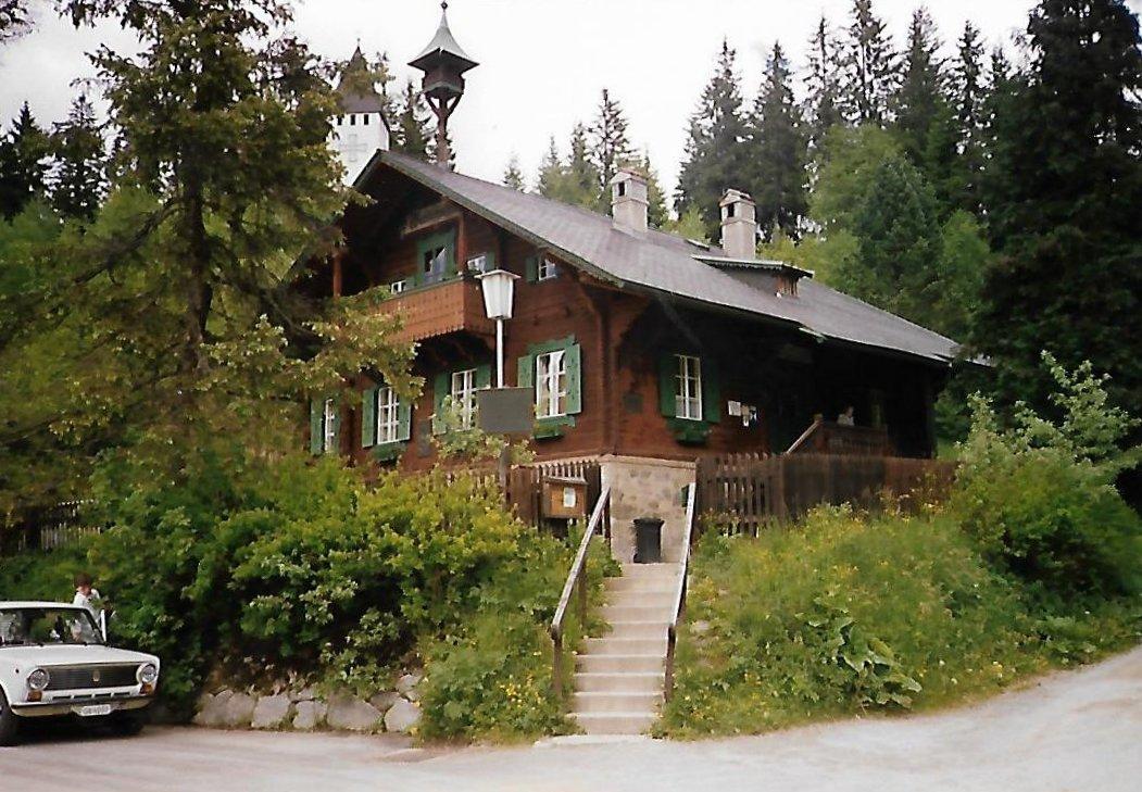 Waldschule Alpl in Roseggers Waldheimat